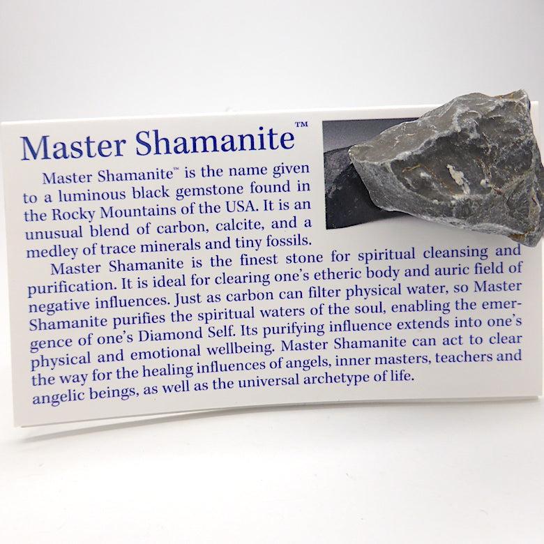 Robert Simmons | Master Shamanite | Genuine Gems from Crystal Heart Melbourne Australia since 1986