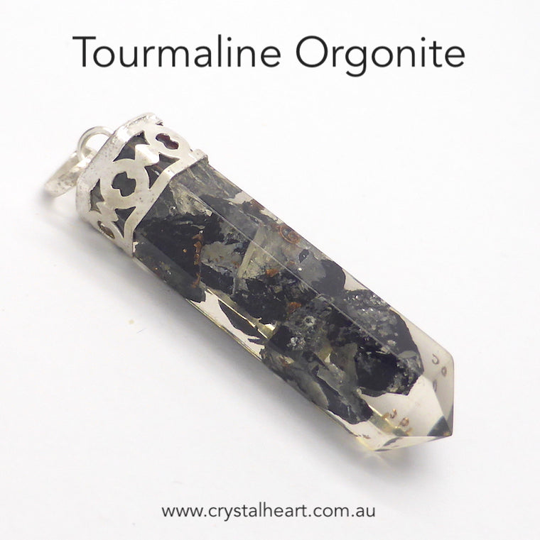 Orgonite Pendant with Tourmaline