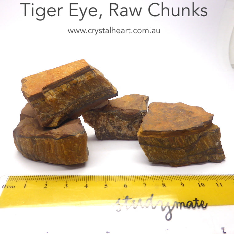 Tiger Eye Raw Crystal Specimen