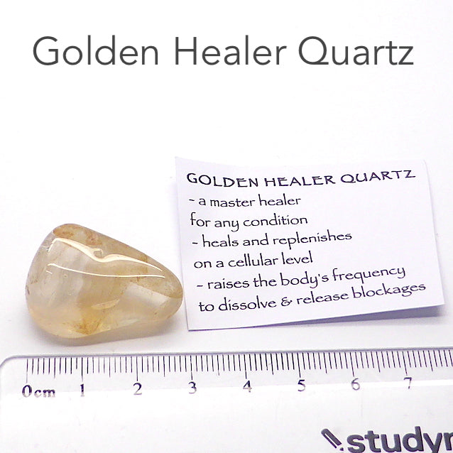 Golden Healers Quartz Specimen