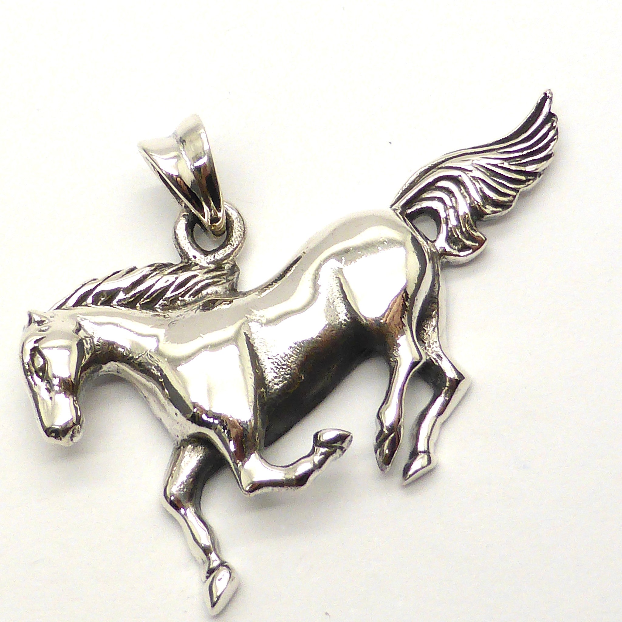 Galloping Horse Pendant Silver australian supplier