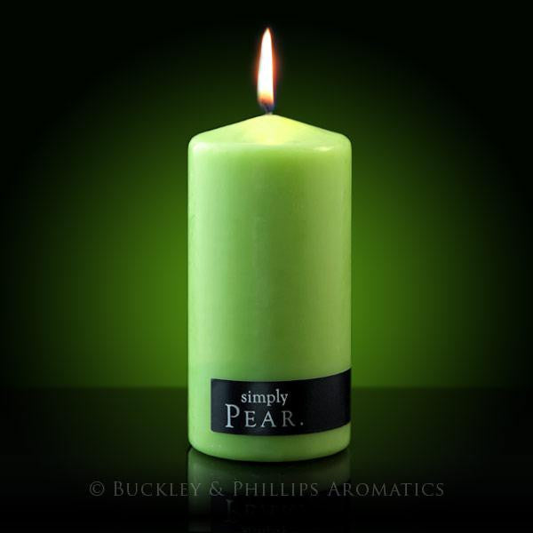 Pillar Candle Pear