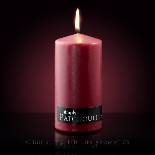 Pillar Candle Patchouli