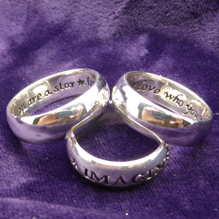 Silver IMAGINE Ring