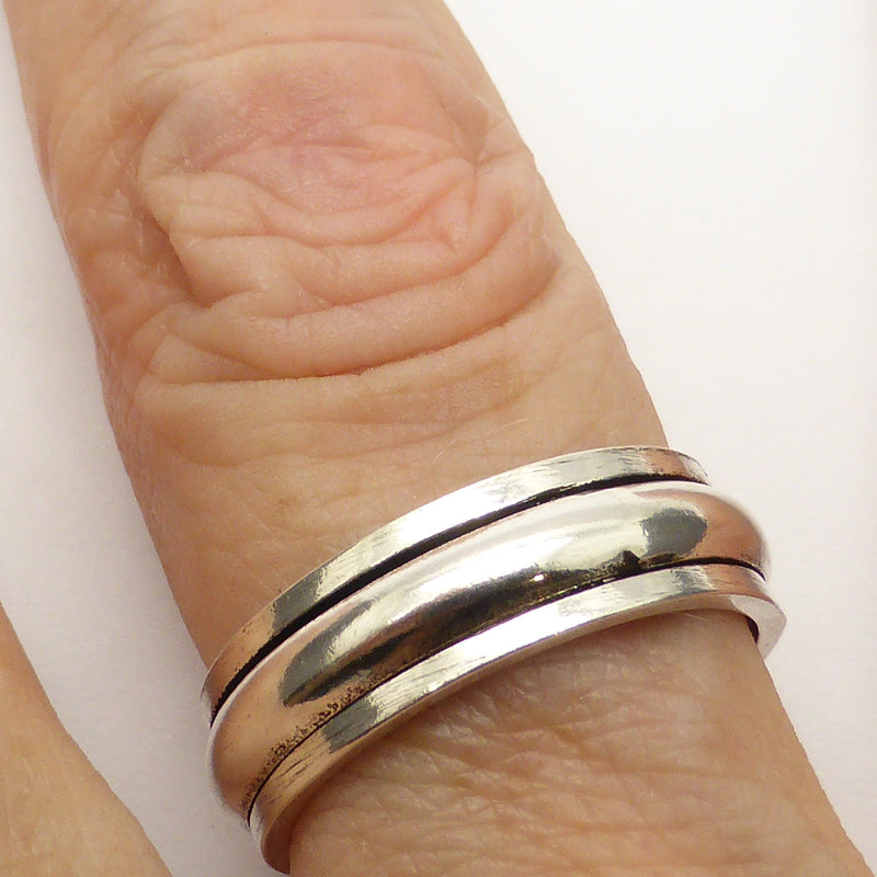 Spinner Spinning Ring Stirling Silver australian supplie