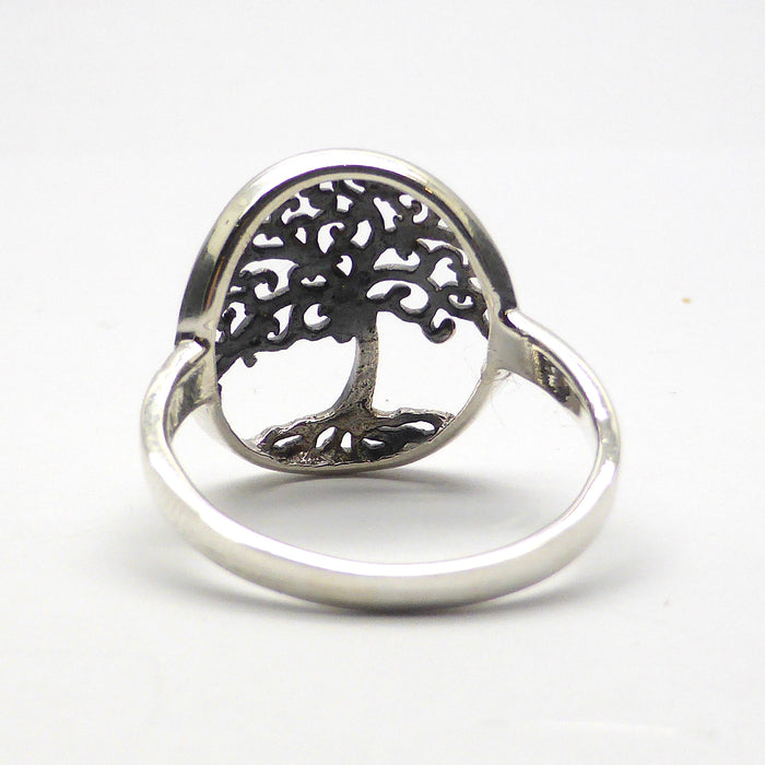 Ring Tree Motif | 925 Sterling Silver | Crystal Heart Melbourne Australia Silver and Gemstone Alternative Megastore since 1986