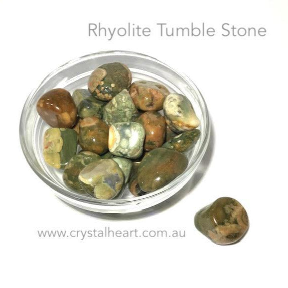 Rainforest Rhyolite Tumble