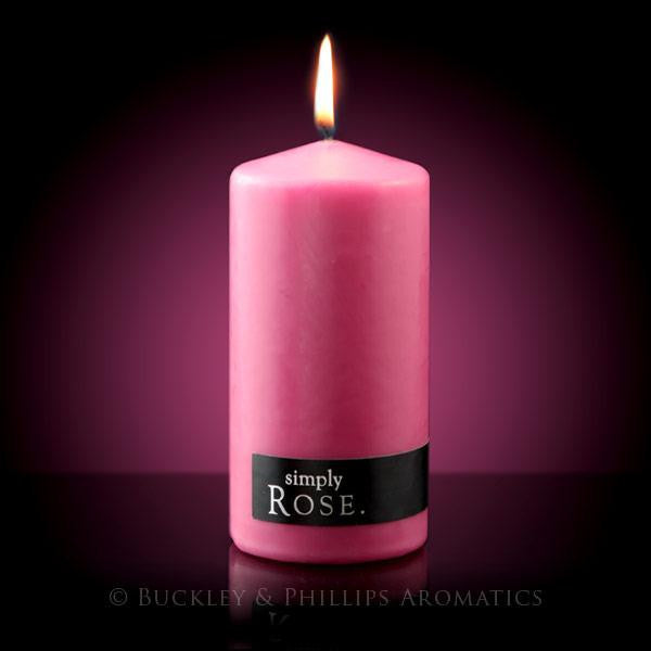 Pillar Candle Rose