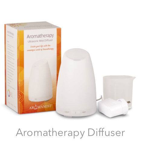 Ultrasonic Aromatherapy diffuser | Aromamist Diffuser  | LED Lights | Crystal heart Melbourne Australia since 1986