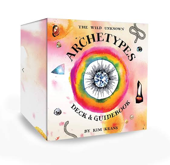 The Wild Unknown Archetypes Oracle Cards | Kim Krans | 78 Circular Card Deck | Lavishly illustrated | Crystal Heart Superstore Since 1986 |