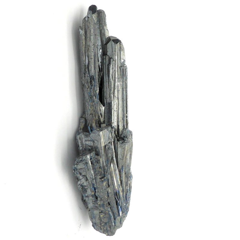 Stibnite crystal group wand