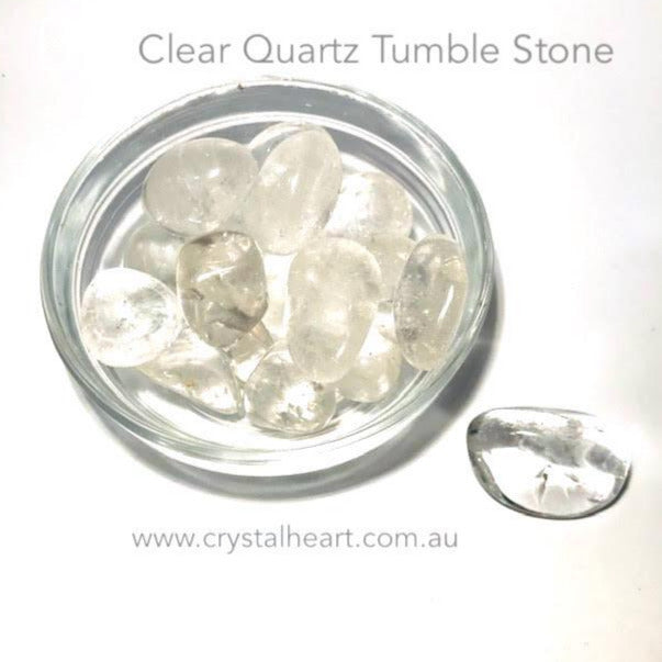 Clear Quartz Tumble