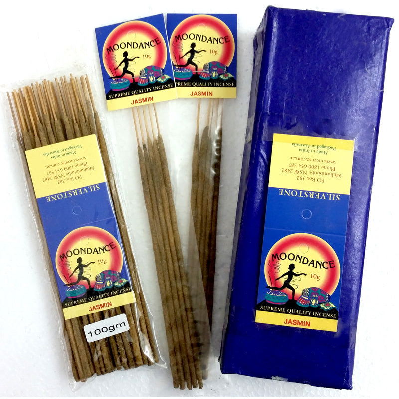 Moondance Incense | JASMINE | Quality well made Incense | Handmade incense | Natural | We've sold this since the 90s | Crystal Heart Since 1986 |