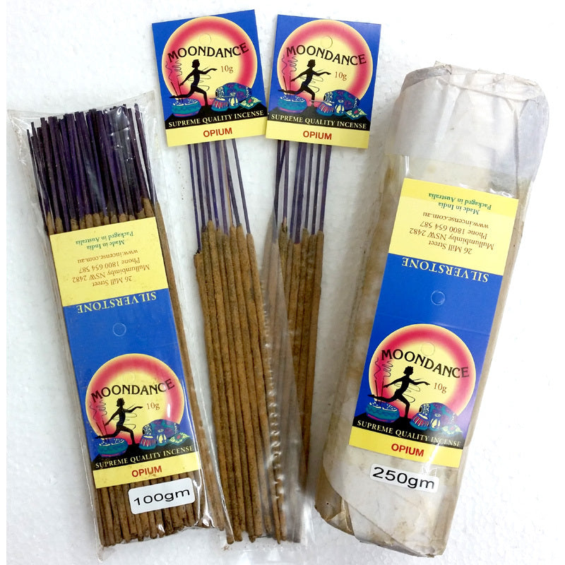 Moondance Incense - OPIUM | Beautifully Smelling Incense | Handmade incense | Natural | Crystal Heart Since 1986 |