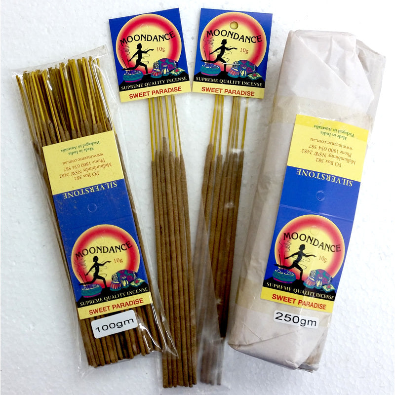 Moondance Incense - SWEET PARADISE | Beautifully Smelling Incense | Handmade incense | Natural | Crystal Heart Since 1986 |