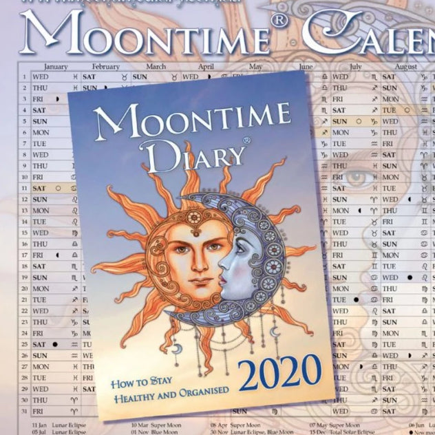 Morgan, Shekinah Description: The original Southern Hemisphere Moon Diary. Accurate moon phase and astrological transit times for the Southern Hemisphe