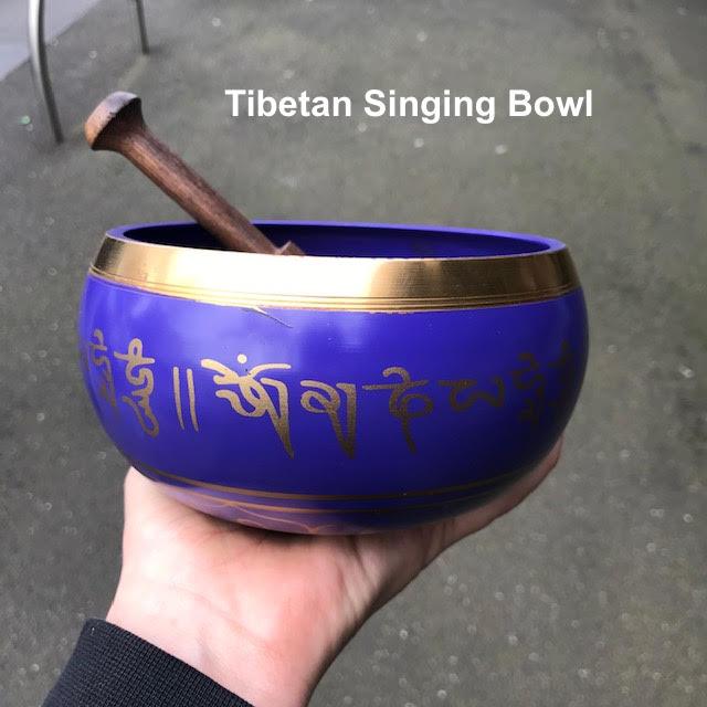 Tibetan Singing Bowl, Purple