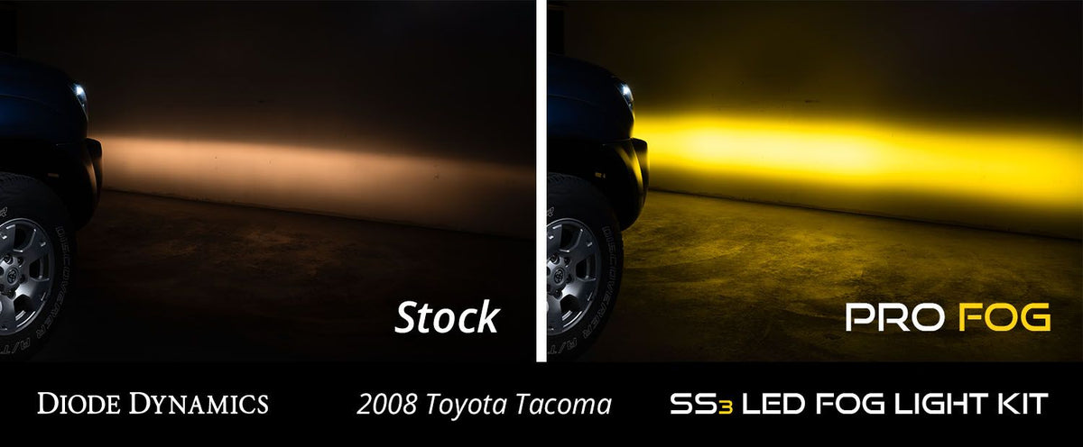 05-11 Tacoma SS3 LED Fog Light Kit