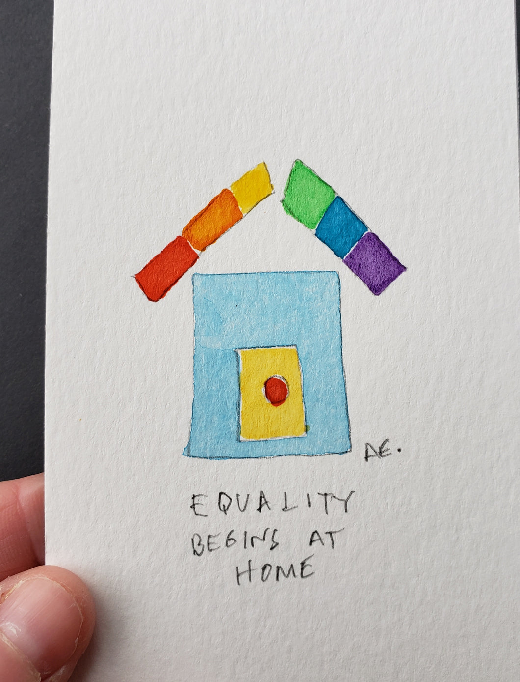 Equality Begins at Home