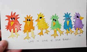 Love is Love is Love Birds