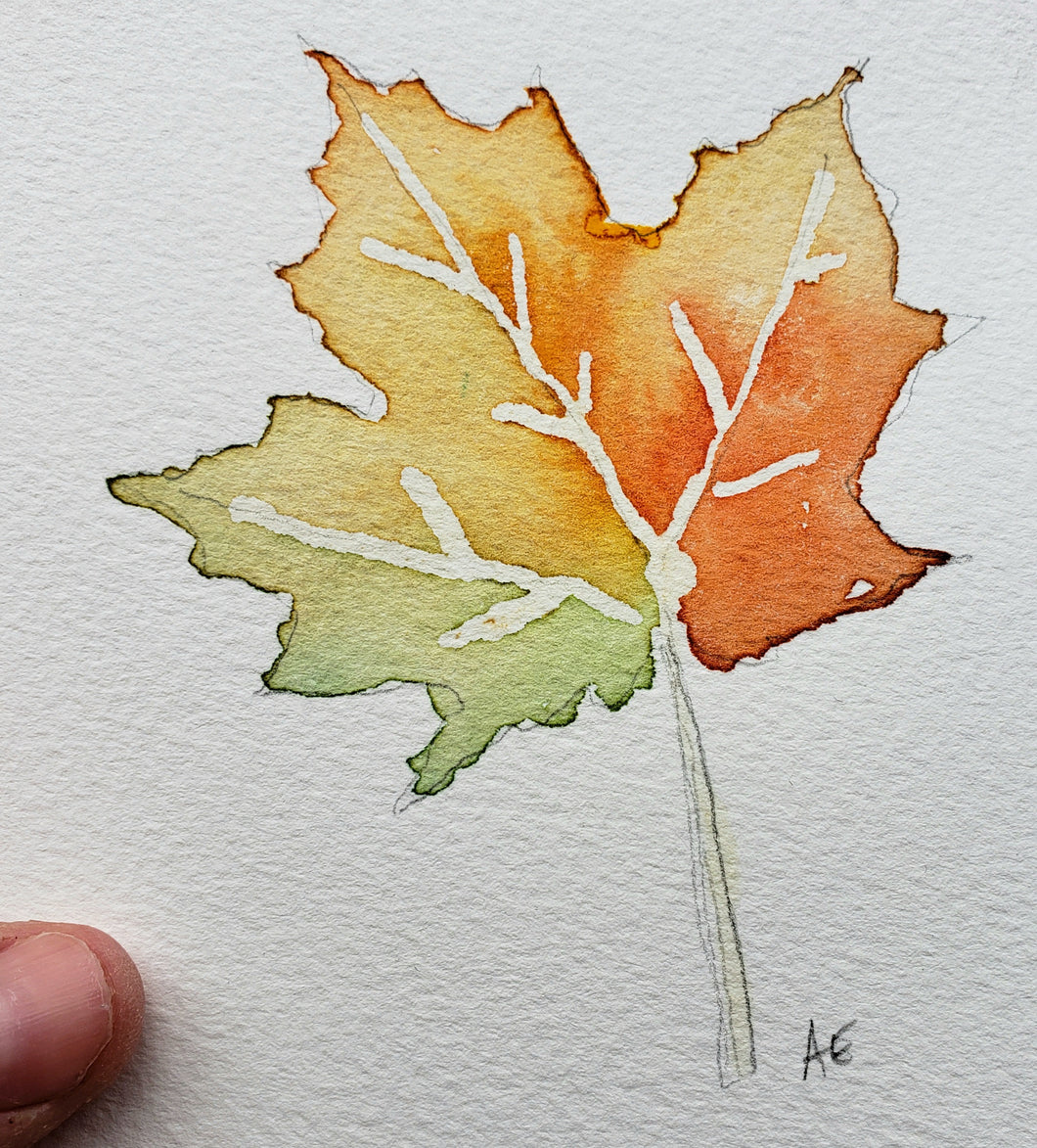 Study for October Leaf