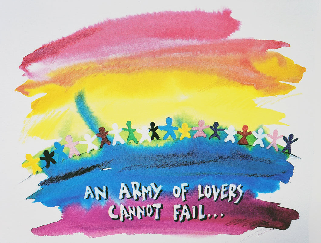 An Army of Lovers Cannot Fail ©Amy Bartell /A.E. Originals