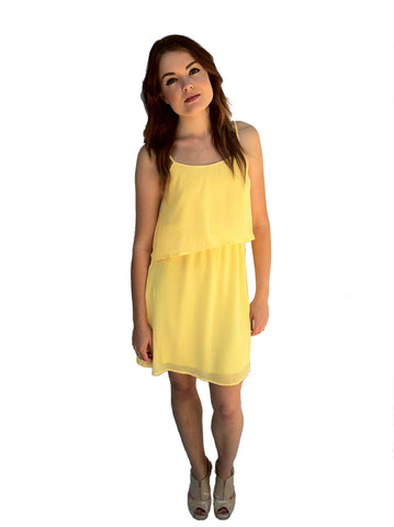 Lunch Date Dress - Yellow