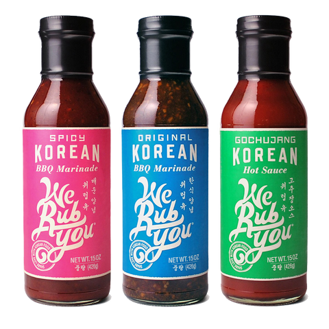 3 pack Korean BBQ Sauces