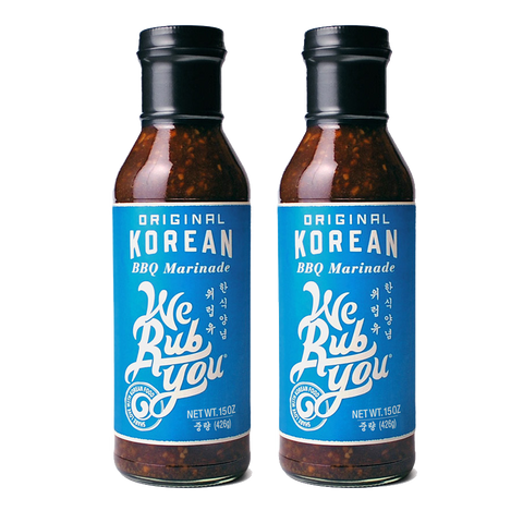 2 pack Korean BBQ Sauces