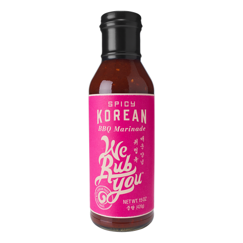 We Rub You Spicy Korean BBQ Sauce