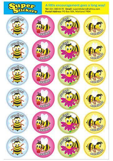 Stickers -Bees - MS52