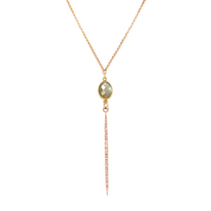 Diamond Golden Sky Necklace