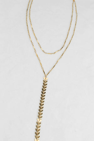 Man Getter Drop Necklace