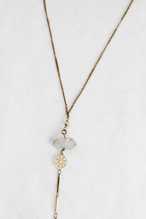 Lover Drop Spike Necklace