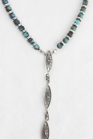 Tulum Diamond Spike Lariat Necklace