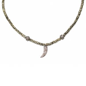 James Diamond Tooth Choker