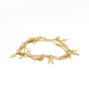 J Grace Cross Wrap Bracelet