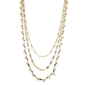 Lover Layered Necklace in Gold