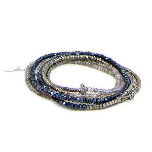 Shine Bright Like a Diamond Wrap Bracelet and Diamond Bracelet