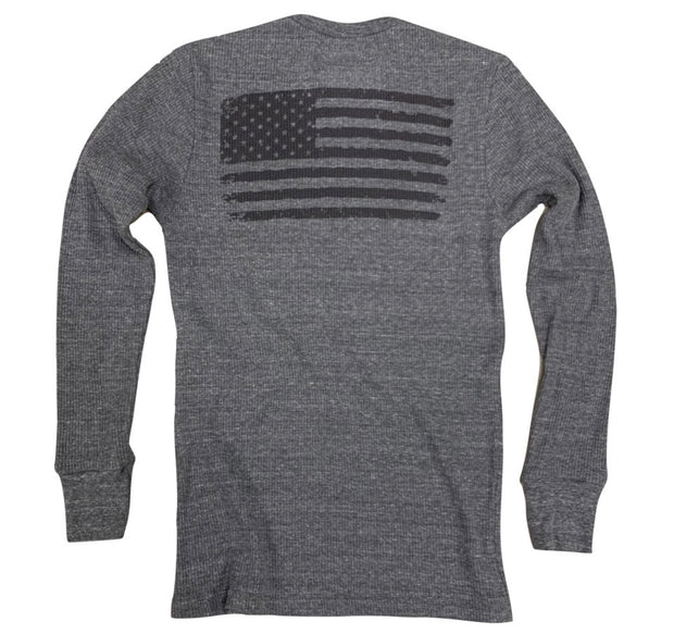 Women's Old Glory American Flag Long Sleeve Thermal Shirt