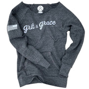 Women's Grit & Grace Ultra Soft Off The Shoulder Sweatshirt