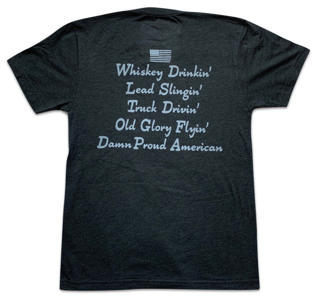 Men's Damn Proud To Be American T-Shirt
