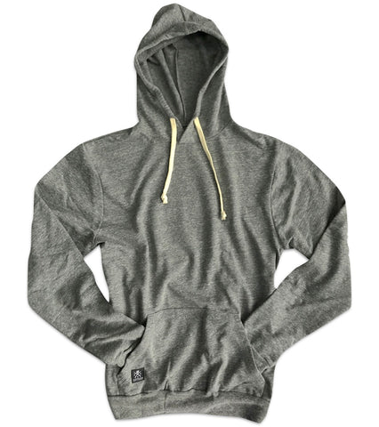 RWB Cut & Sew Lightweight Fleece Hoodie (Heather Gray)