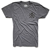 Men's Live Free Regret Nothing T-Shirt (Gray)