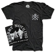 Men's Live Free Regret Nothing T-Shirt (Black)