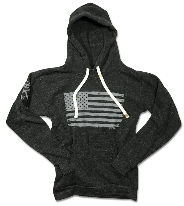 Red White blue Apparel American Flag Hoodie Patriotic Hooded Sweatshirt