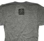 Men's Classic American CJ Tri-Blend T-Shirt (Heather Gray)