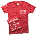 Men's Red Friday Support Operation Homefront (Heather Red)