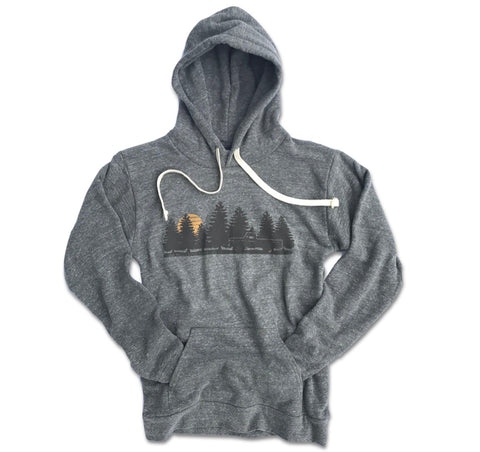 Men's Take the Road Less Traveled Hooded Pullover Sweatshirt