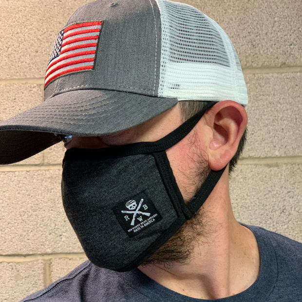 Face Cover With Pocket (Gray)
